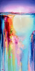 Morning Shimmer by Anna Gammans - Original Painting on Stretched Canvas sized 20x39 inches. Available from Whitewall Galleries